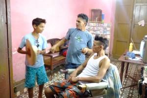 Djamel le coiffeur de Trinidad