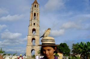 la tour pour surveiller les esclaves et le faucon