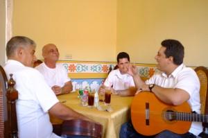 les musiciens de Trinidad